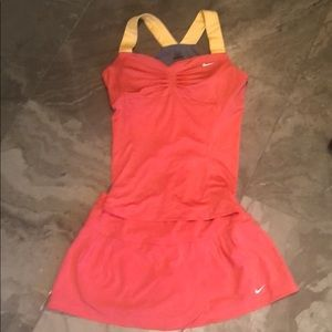 Nike Tennis Top & Skirt